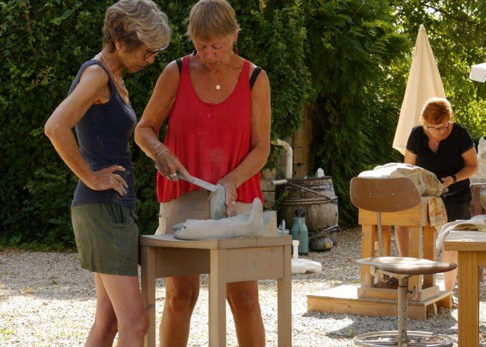 Beeldhouwen en schilderen le mathey beaudot