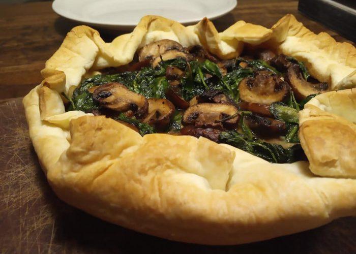 paddenstoel taartje